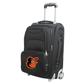 Denco Sports Baltimore Orioles 21-inch Carry On 8-wheel Spinner Suitcase