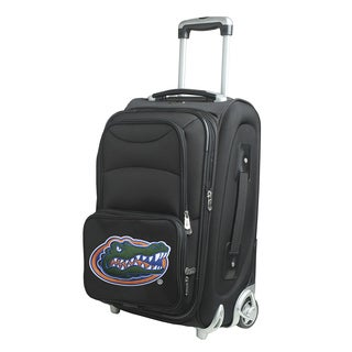 Denco Sports Florida Gators Black Nylon 21-inch Carry-on 8-wheel Spinner Suitcase