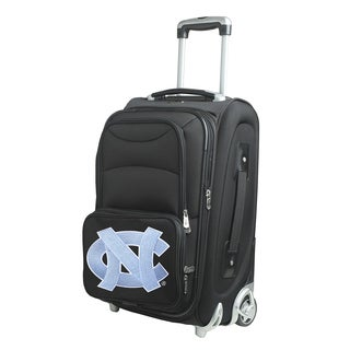 Denco North Carolina 21-inch Carry-on 8-wheel Spinner Suitcase