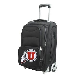 Denco Utah 21-inch Carry-on 8-wheel Spinner Suitcase