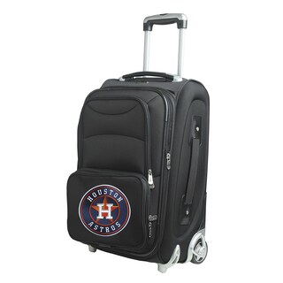 Denco Sports Houston Astros 21-inch Carry-on 8-wheel Spinner Suitcase