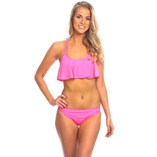 Women's Pop Pink Hanky Top