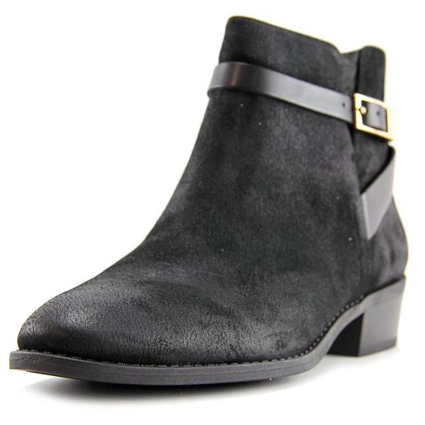 9d25b5e65de0 Shop Franco Sarto Women s Shandy Regular Black Suede Boots - Free Shipping  Today - Overstock - 13261821