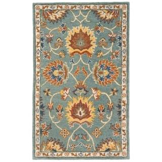 Safavieh Hand-Woven Heritage Light Blue Wool Rug (3' x 5')