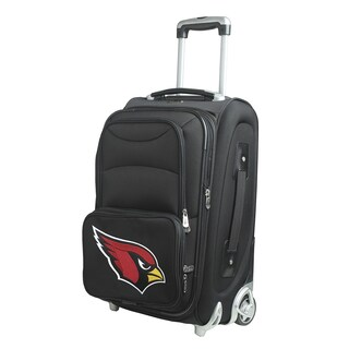 Denco Arizona Cardinals 21-inch 8-wheel Carry-on Spinner Suitcase
