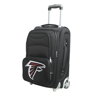 Denco Sports Atlanta Falcons 21-inch Carry On 8-wheel Spinner Suitcase