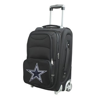 Denco Dallas Cowboys Carry On 21-inch 8-wheel Spinner Suitcase