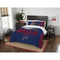 The Northwest Co NFL Buffalo Bills Draft Full/Queen 3-peice Comforter Set