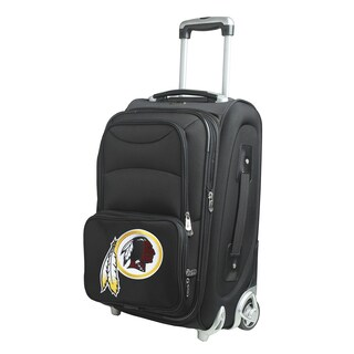 Denco Washington Redskins 21-inch 8-wheel Carry-on Spinner Suitcase