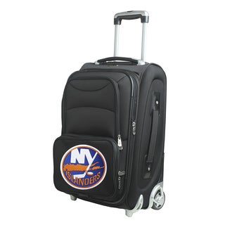 Denco New York Islanders 21-inch 8-wheel Carry-on Spinner Suitcase