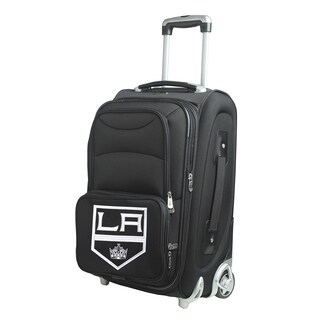 Denco Los Angeles Kings 21-inch 8-wheel Carry-on Spinner Suitcase