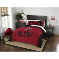 The Northwest Company COL 849 NC State Modern Take Full/Queen 3-piece Comforter Set