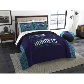 The Northwest Company NBA Charlotte Hornet Reverse Slam Full/Queen 3-piece Comforter Set