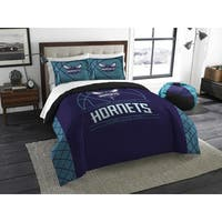 The Northwest Company NBA Charlotte Hornet Reverse Slam Full/Queen 3-piece Comforter Set
