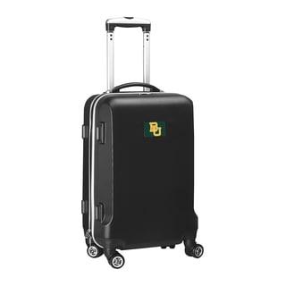 Denco Baylor Black Plastic 20-inch Hardside Carry-on 8-wheel Spinner Suitcase