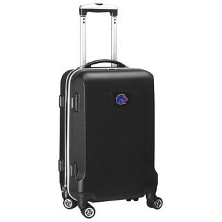 Denco Boise State Black 20-inch Hardside Carry-on 8-wheel Spinner Suitcase
