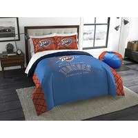 The Northwest Company Oklahoma Thunder Polyester Reversible Full/Queen 3-piece Comforters Set