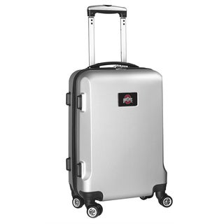 Denco Sports Ohio State 20-inch Hardside Carry-on 8-wheel Spinner Suitcase