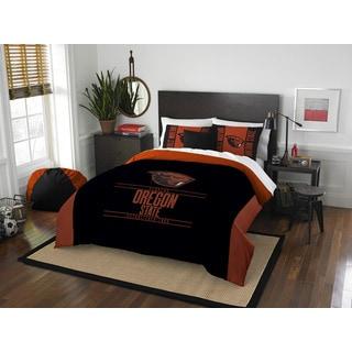 COL 849 Oreogn State Modern Take Full/Queen 3-piece Comforter Set