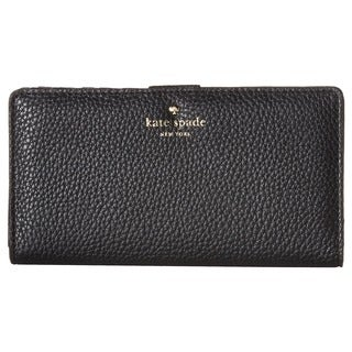 Kate Spade New York Cobble Hill Stacy Black Leather Wallet