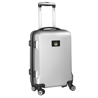 Denco Milwaukee Bucks Silver Plastic 20-inch Hardside Carry-on 8-wheel Spinner Suitcase