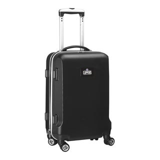 Denco Los Angeles Clippers Black ABS 20-inch Hardside Carry-on 8-wheel Spinner Suitcase