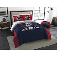 The Northwest Company NBA Washington Wizards Reverse Slam Full/Queen 3-piece Comforter Set
