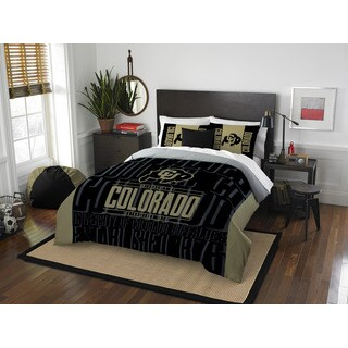 The Northwest Company Colorado Modern Take Black and Gold Full/Queen 3-piece Comforter Set