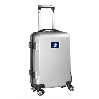 Denco Sports Toronto Maple Leafs 20-inch Hardside Carry-on 8-wheel Spinner Suitcase