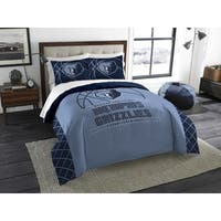 The Northwest Company NBA Memphis Grizzlies Reverse Slam Blue Full/Queen 3-piece Comforter Set