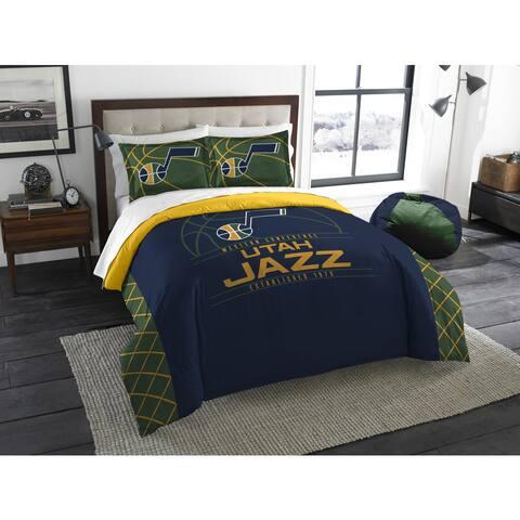 The Northwest Company NBA Utah Jazz Reverse Slam Full/Queen 3-piece Comforter Set