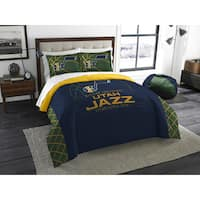The Northwest Company NBA Utah Jazz Reverse Slam Full/Queen 3-piece Comforter Set