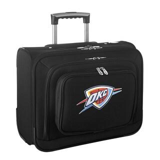 Denco Oklahoma City Thunder 14-inch Rolling Travel Business Tote Bag