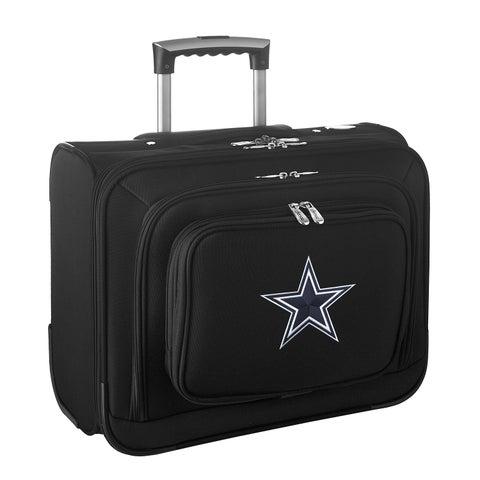 Denco Dallas Cowboys 14-inch Rolling Travel Business Tote Bag