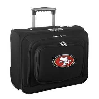 Denco Sports San Francisco 49ers 14-inch Rolling Travel Business Tote Bag