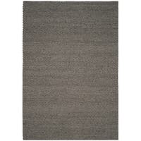 Safavieh Manhattan Contemporary Handmade Grey Wool Rug - 4' x 6'
