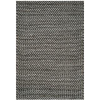 Safavieh Handmade Manhattan Anouschka Modern Wool Rug (6 x 9 - Turquoise/Grey)