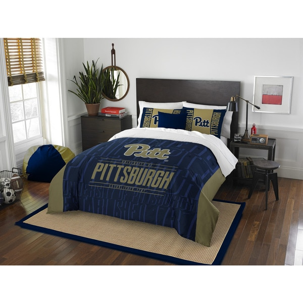The Northwest Company COL 849 Pittsburgh Modern Take Full/Queen 3-piece Comforter Set