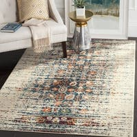 Safavieh Monaco Vintage Distressed Ivory / Blue Distressed Rug - 4' x 5'7""