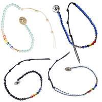Handmade Chakra Crystal Healing Anklet/Bracelet (India)