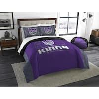 The Northwest Company NBA 849 Sac Kings RevKingse Slam Full/Queen 3-piece Comforter Set