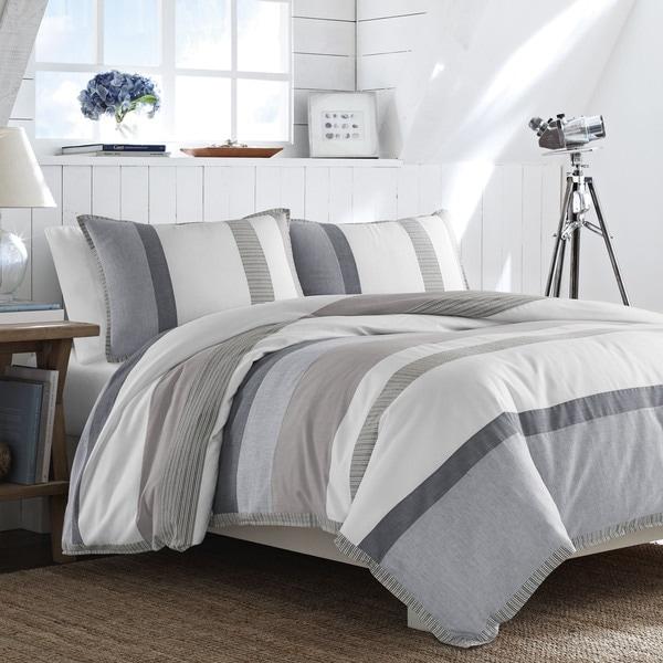 Nautica Tideway Cotton 3-piece Comforter Set