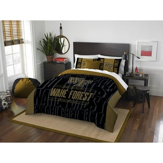 The Northwest Company COL 849 Wake Forest Modern Take Full/Queen 3-piece Comforter Set
