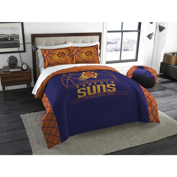 The Northwest Co NBA Phoenix Suns Reverse Slam Full/Queen 3-piece Comforter Set