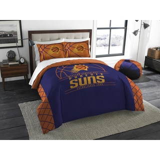 The Northwest Company NBA Phoenix Suns Reverse Slam Full/Queen 3-piece Comforter Set