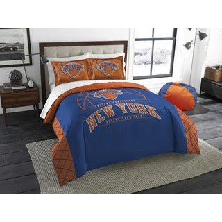 The Northwest Company NBA New York Knicks Reverse Slam Full/Queen 3-piece Comforter Set