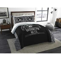 The Northwest Company NBA Brooklyn Nets Reverse Slam Full/Queen 3-piece Comforter Set