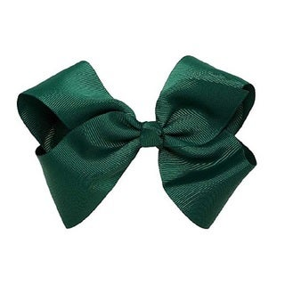 100% Love Bright Colors Grosgrain Ribbon Bows with Alligator Clip (Option: Black)