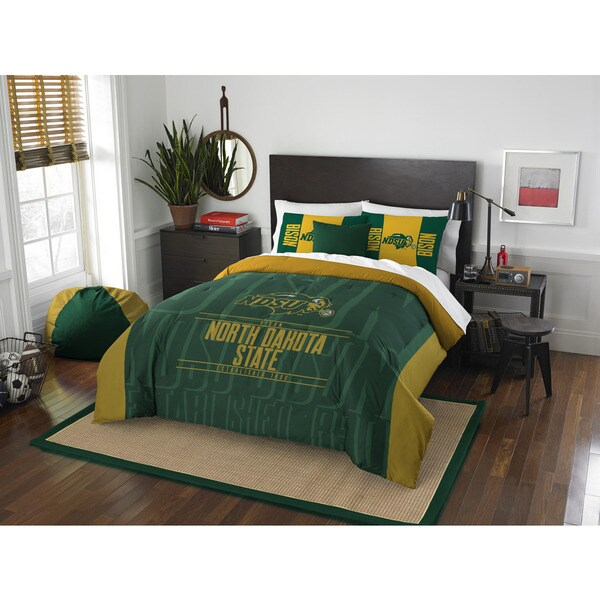 The Northwest Company COL 849 North Dakota State Modern Take Full/Queen 3-piece Comforter Set