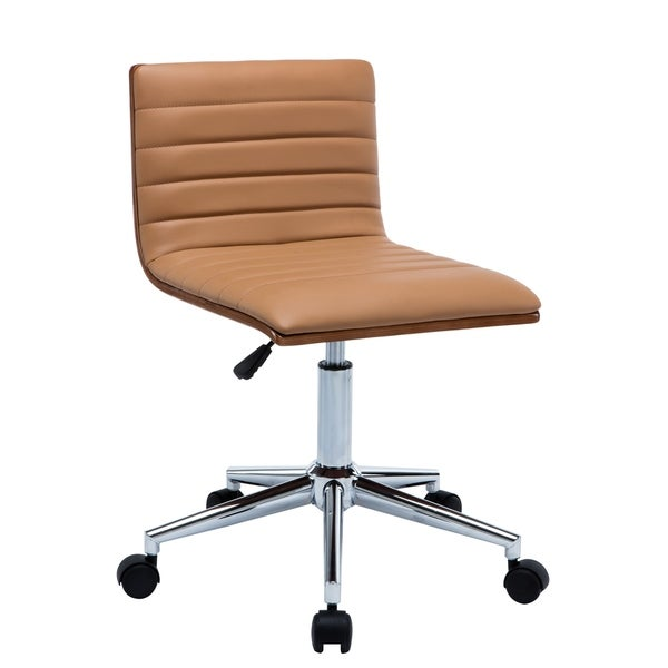 Porthos Home Alyson Office Chair White Home Office Desk Chairs